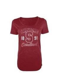 KNIGHTS APPAREL Ncaa Red Juniors Scp Tee Stanford Xl