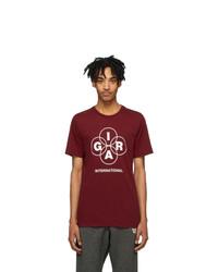 Nike Red Gyakusou Logo Running T Shirt