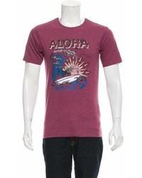 The Kooples Sport Aloha Graphic T Shirt