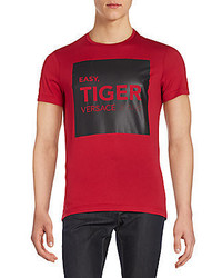 Versace Easy Tiger Graphic Tee