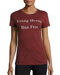 Wildfox Couture Young Hearts Run Free T Shirt