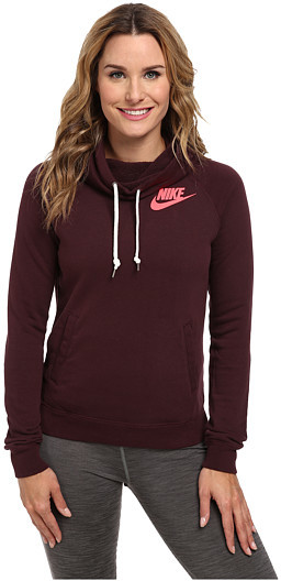 cheap sports shoes discount sale $65, Nike Rally Funnel Neck Hoodie