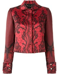 Philipp Plein Butterfly Print Jacket