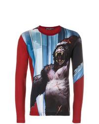 Dolce & Gabbana King Kong Print Top