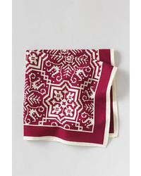 Lands' End Print Cotton Pocket Square