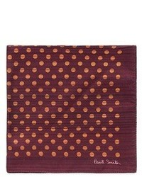 Paul Smith Stripe Polka Dot Print Pocket Square