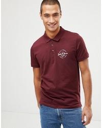 Jack & Jones Jack And Jones Polo Shirt With Chest Logo