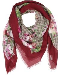 Blooms print gg supreme scarf medium 3757029