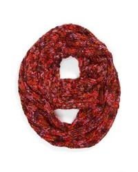 David & Young Infinity Scarf Burgundy One Size