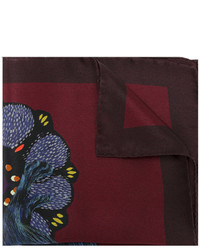 Paul Smith Rabbit Print Pocket Square