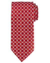 Octagon print silk tie medium 791525