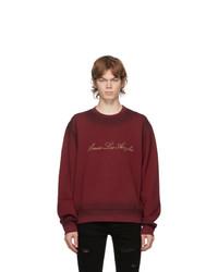 Amiri Red Los Angeles Sweatshirt