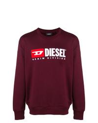 Diesel S Crew Division Sweatshirt