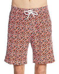 Saks Fifth Avenue Printed Board Shorts
