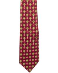 Gucci Checkered Silk Tie