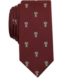Bar III Conversational Slim Tie Created For Macys