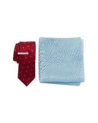 The Tie Bar Dotted Hitch 3 Piece Skinny Tie Style Box