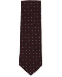 Luciano Barbera Printed Silk Tie