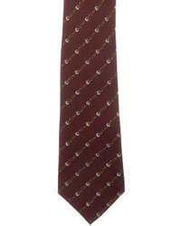 Gucci Skinny Silk Tie W Tags