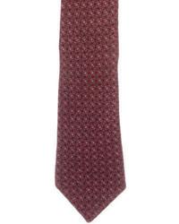 Timothy Everest Printed Wool Tie