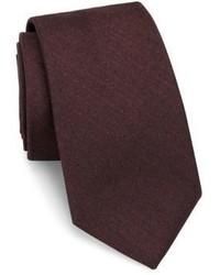 Theory Dot Print Woolen Tie