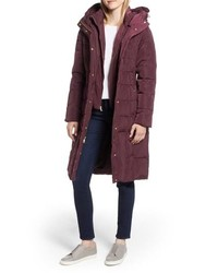 Cole Haan Signature Cole Haan Bib Insert Down Feather Fill Coat