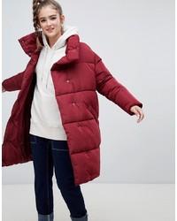 Monki Longline Puffer Jacket