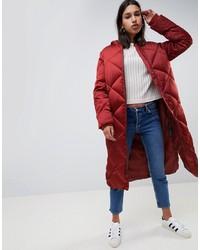 ASOS DESIGN Longline Puffer Jacket