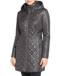 Via Spiga Tassel Detail Hooded Mix Quilt Coat | Where to buy & how ... : via spiga quilted coat - Adamdwight.com