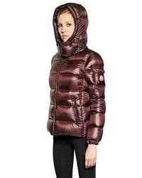 burgundy moncler vest