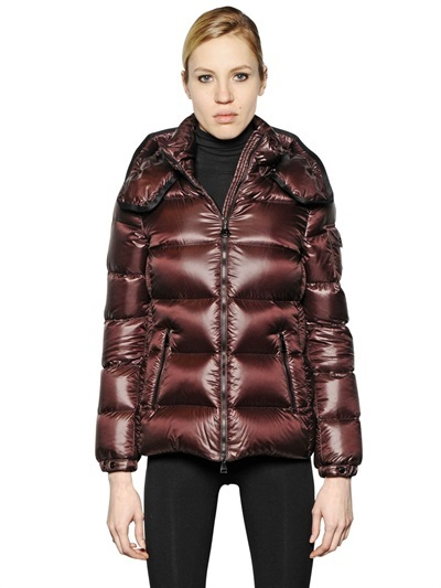 ... Moncler Berre Brilliant Nylon Down Jacket ...