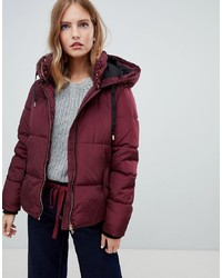 Only Quilted Metallic Detail Padded Jacket