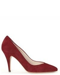 Burgundy pumps original 1630707