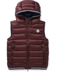Burgundy Quilted Gilet