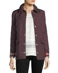 Burberry Westbridge Quilted Snap Jacket