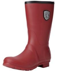 Burgundy Rain Boots