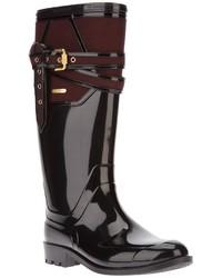 Burberry Buckled Rain Boots