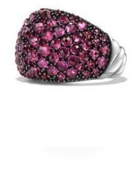 Osetra dome ring with pave rubies medium 831587