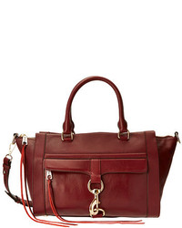 Burgundy Satchel Bag