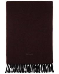 Lanvin Cashmere Birdseye Scarf