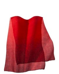 Saison Limited Merona Spotted Print Scarf Red