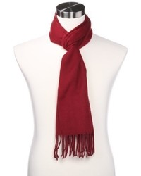 Izod Solid Scarf With Fringe