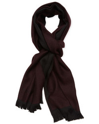 Versace Solid Wool Scarf 72 X 15