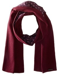Ted Baker Woven And Knitted Scarf
