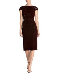 Dress the Population Bodycon Velvet Dress
