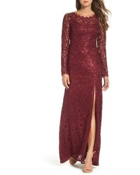Sequin lace gown medium 5255697