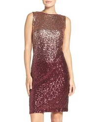 Ombre sequin sheath dress medium 1128512
