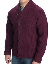 Pendleton Garthwick Shawl Cardigan Sweater Lambswool
