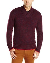 Nautica High Twist Shawl Collar Sweater