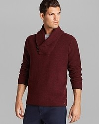 Hugo Boss Boss Orange Koffi Shawl Collar Sweater